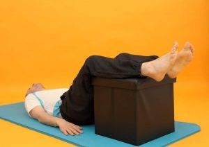 Rückenprobleme - Stufenlagerung bei Hexenschuss