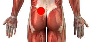 Rückenschmerzen unten links - der Schmerzpunkt