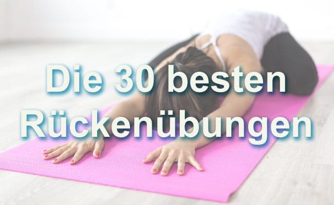 Rückenübungen bei Rückenschmerzen