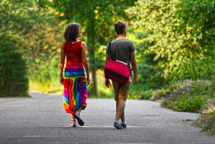 Rückenübungen Spaziergang