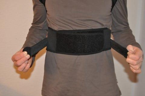 Geradehalter Rücken Tencoz - Klettverschlüsse