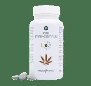 Nahrungsergänzungsmittel Rückenschmerzen - CBD Stem Complex