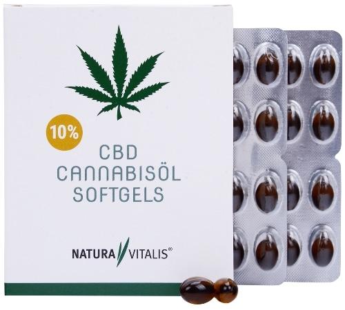Nahrungsergänzungsmittel Rückenschmerzen Cannabisöl Softgels