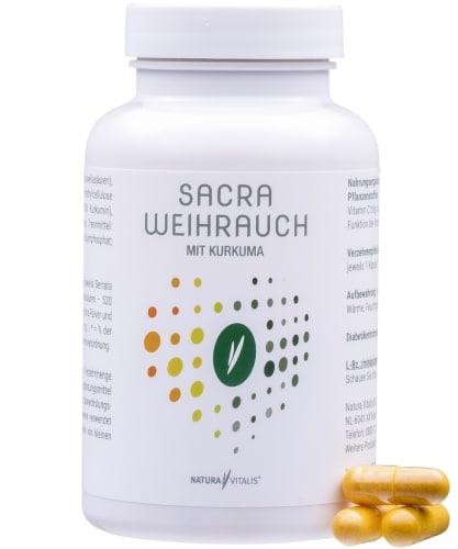 Nahrungsergänzungsmittel Rückenschmerzen - Sacra Weihrauch mit Kurkuma