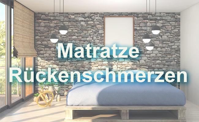 Matratze Rückenschmerzen
